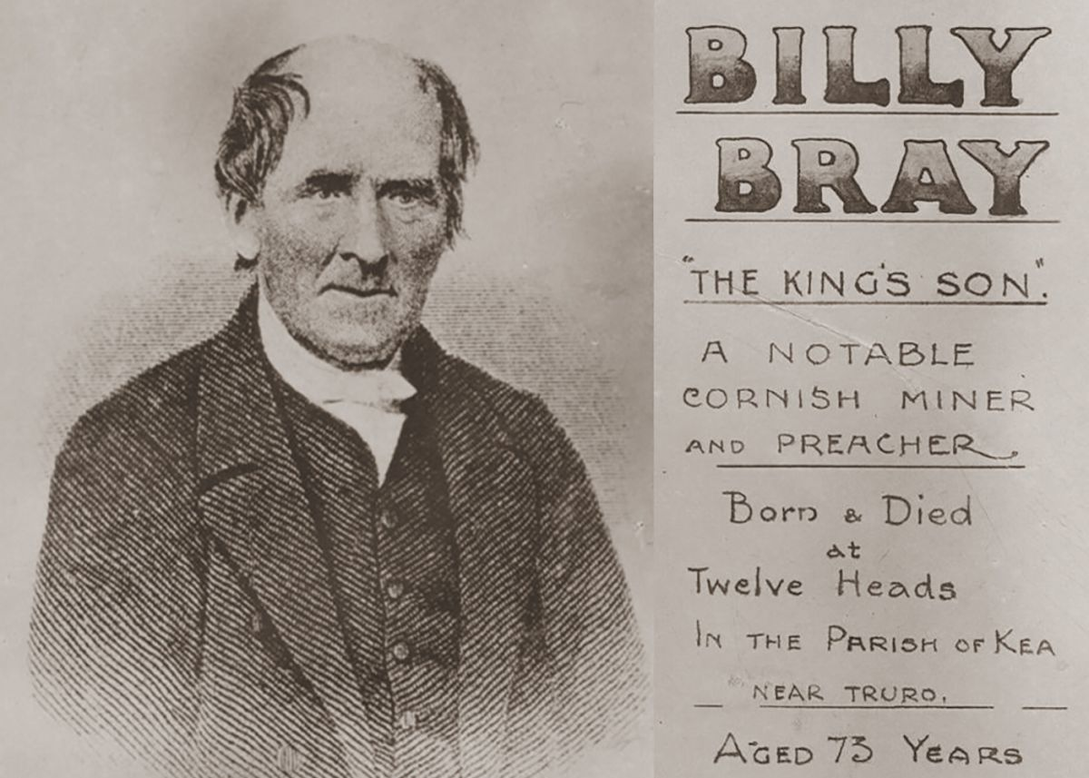 Portrait of Billy Bray
