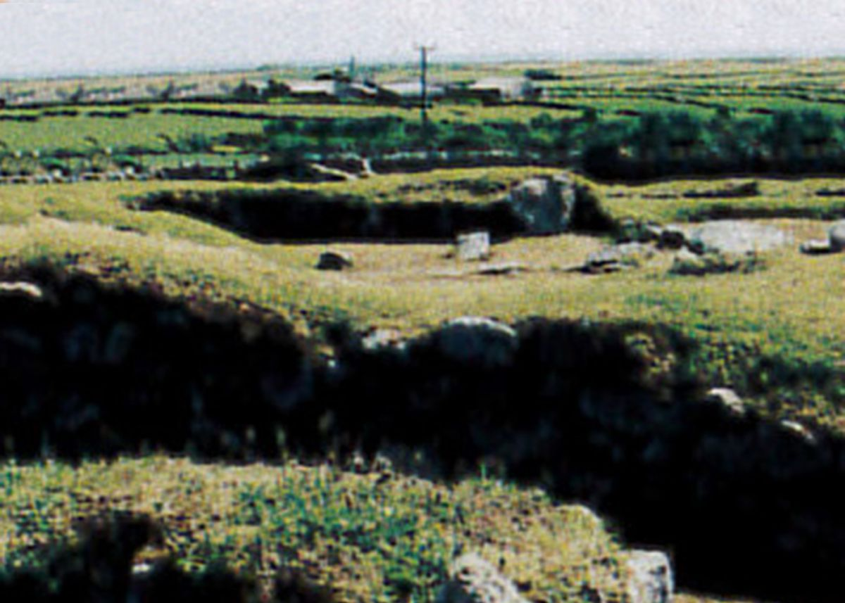 Remains of Chysauster Ancient Village