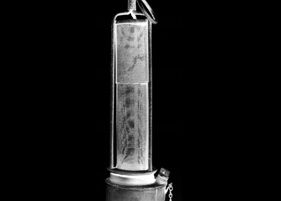 Photograph of Sir Humphry Davy Miner's Lamp