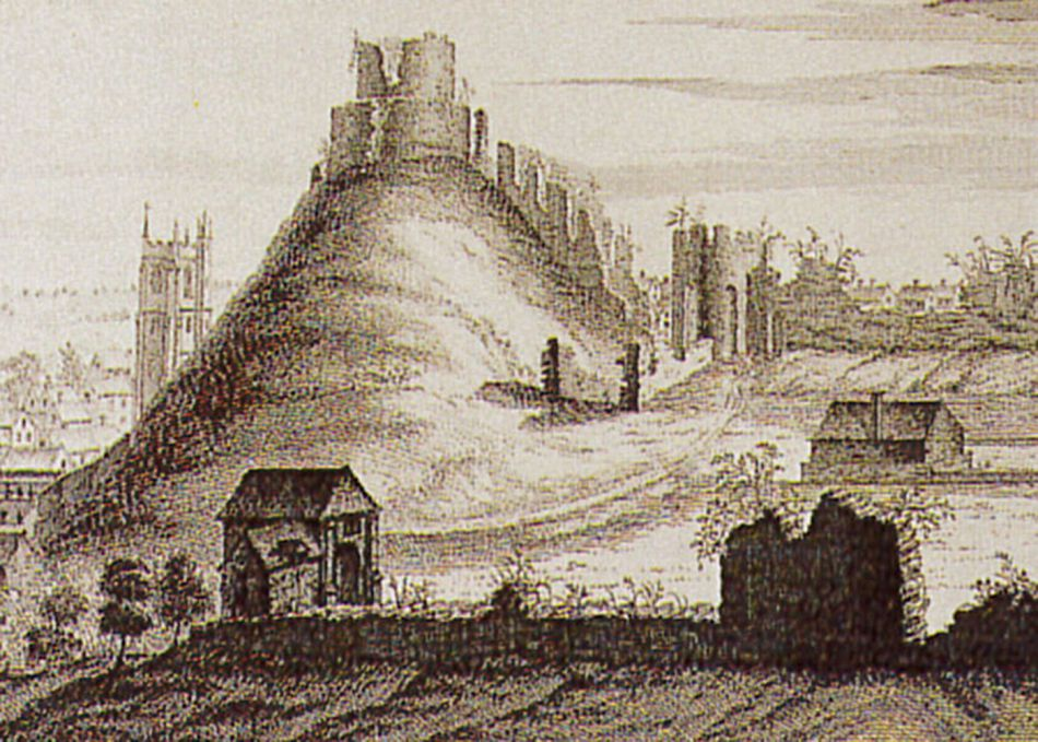 Illustration of Launceston Castle