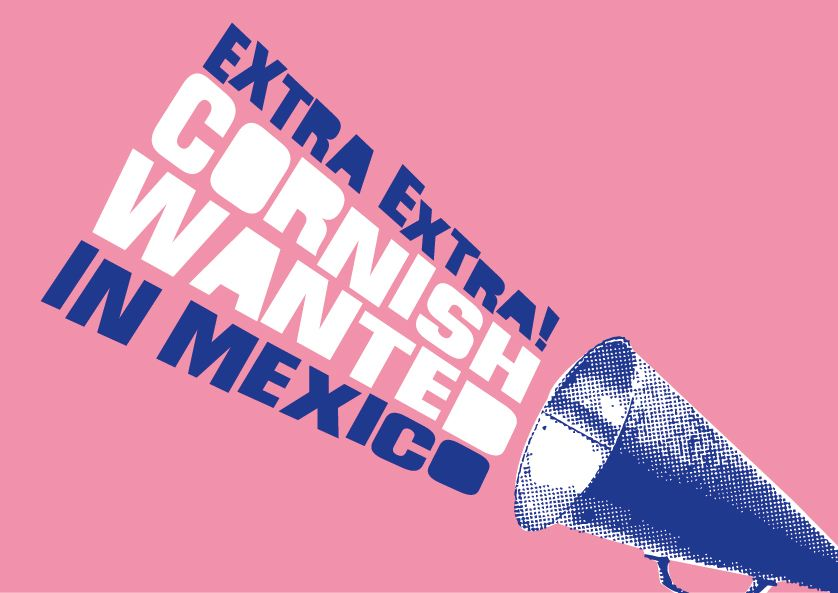 Cornish miners wanted in Mexico illustration