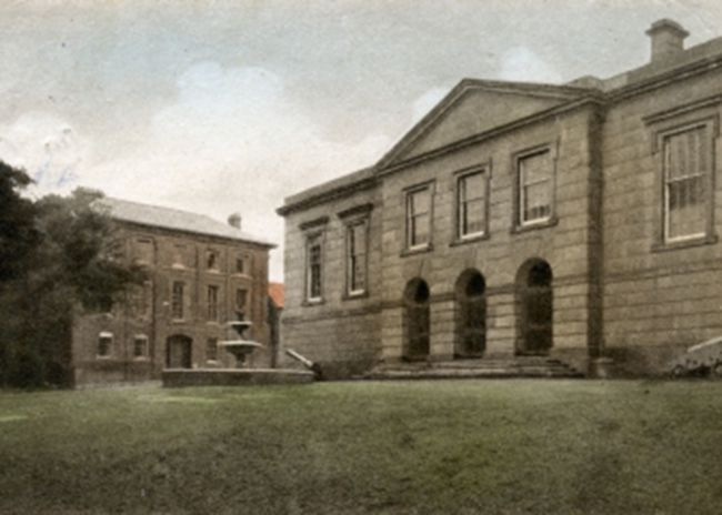 The Shire Hall in Bodmin in 1919