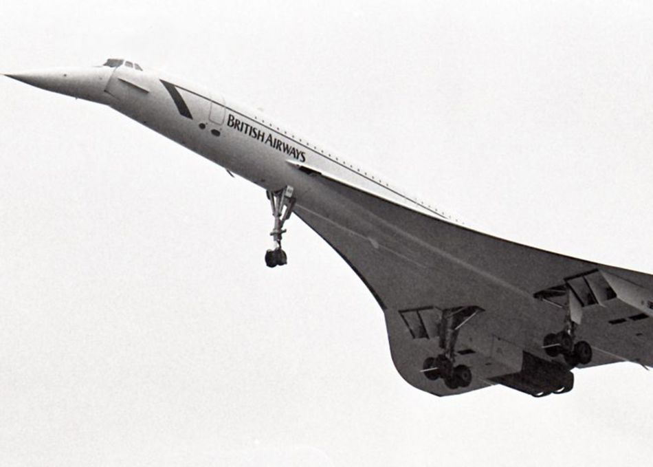 Concorde at Culdrose Air Day in 1986