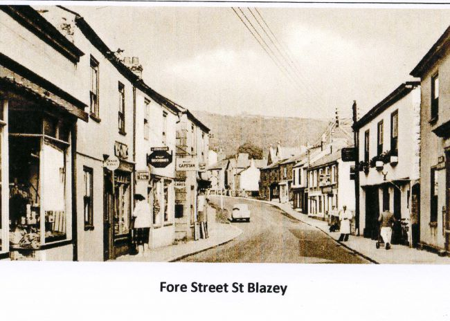 Fore Street St Blazey in the 1950s