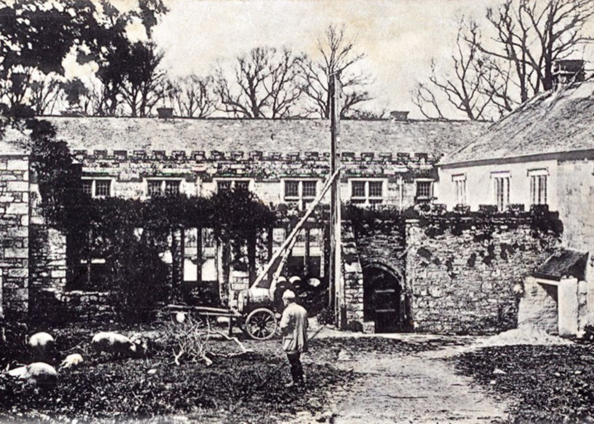 Godolphin House in Helston around 1920