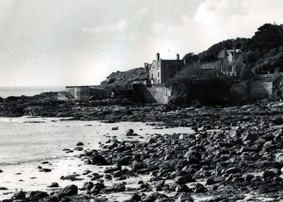Prussia Cove House in the 1990s