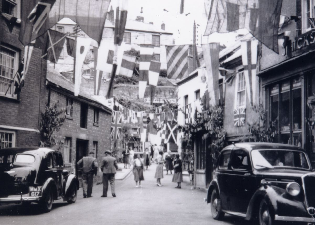 Mevagissey Feast Week in the 1940s