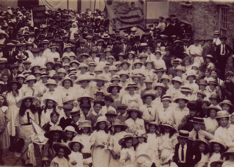Mevagissey Feast Week Rally in the 1900s