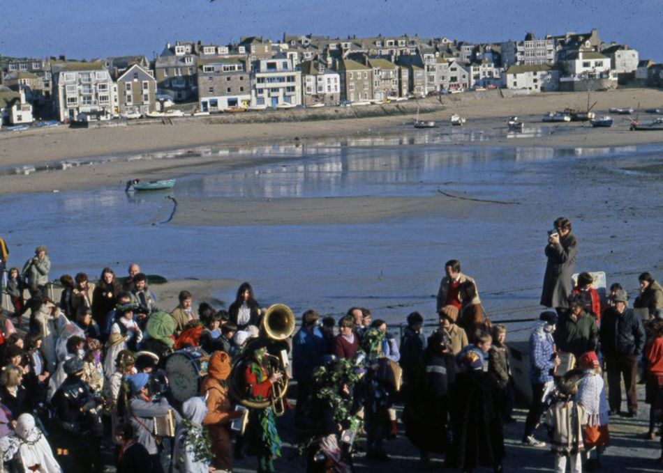 Guise Dancers in St Ives