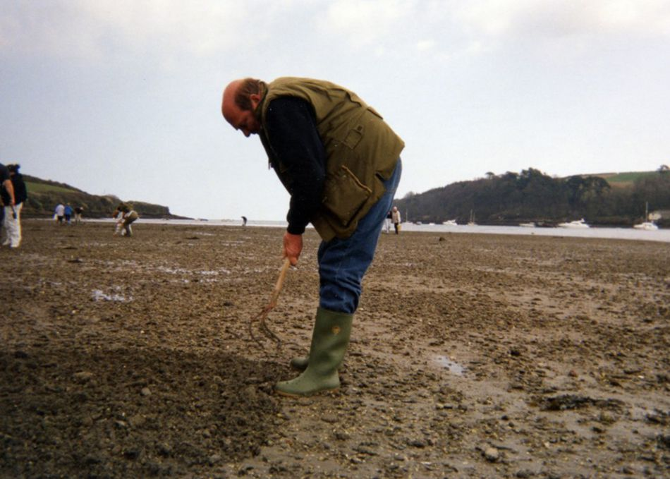 Trigging at Helford Passage in 2002