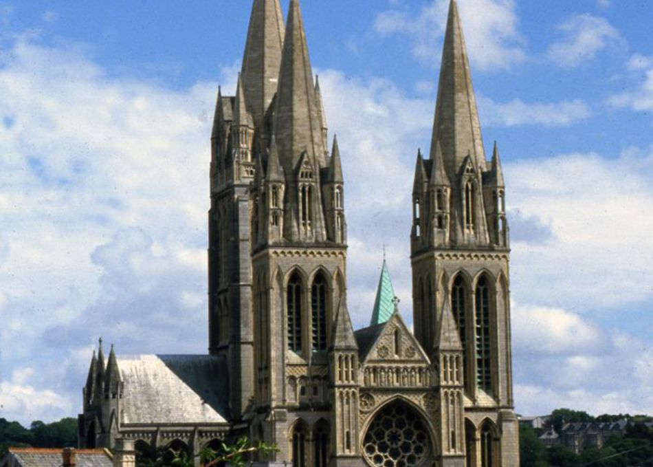 Truro Cathedral in Truro