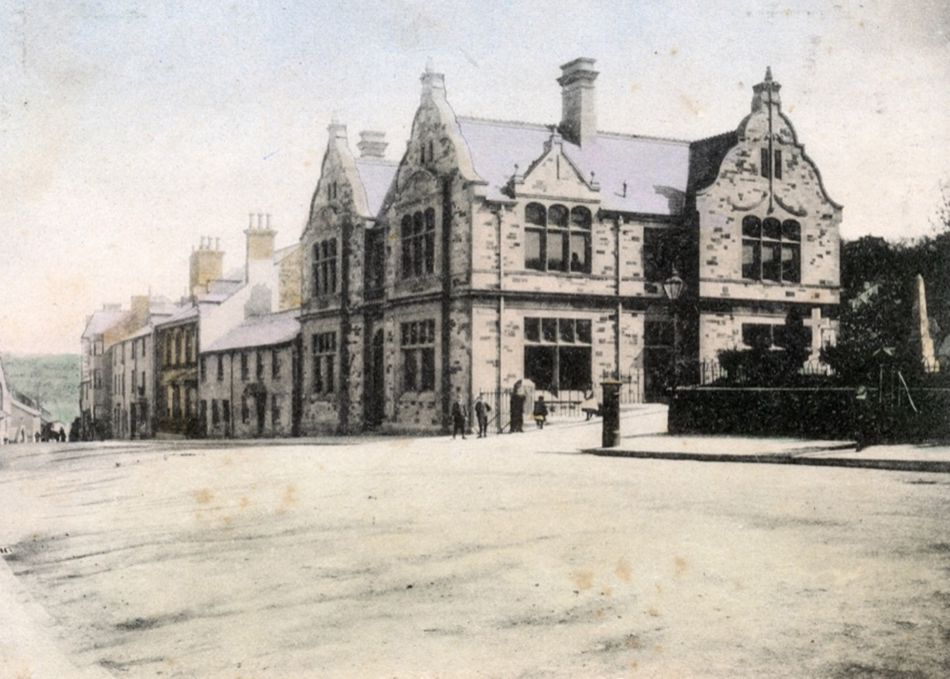 Bodmin Free Library in 1904