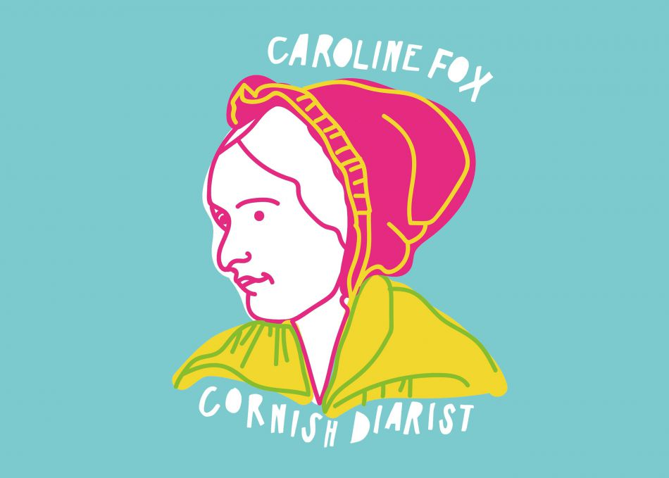 Illustration of Caroline Fox
