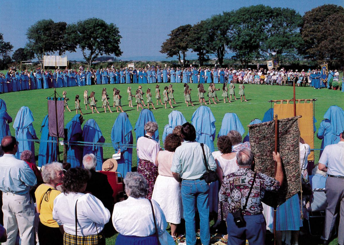 Photograph of the Cornish Gorsedh ceremony