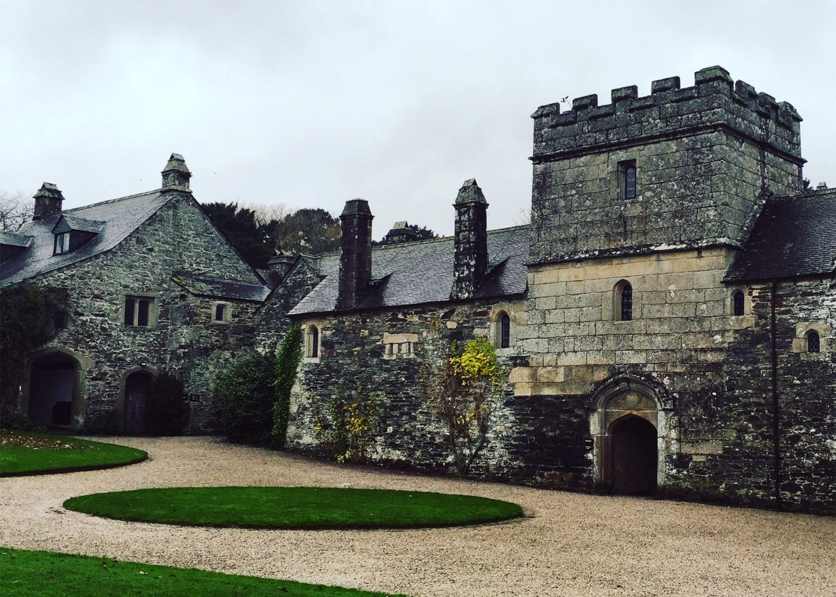 Photograph of Cotehele House, owned by Colonel Piers Edgcumbe