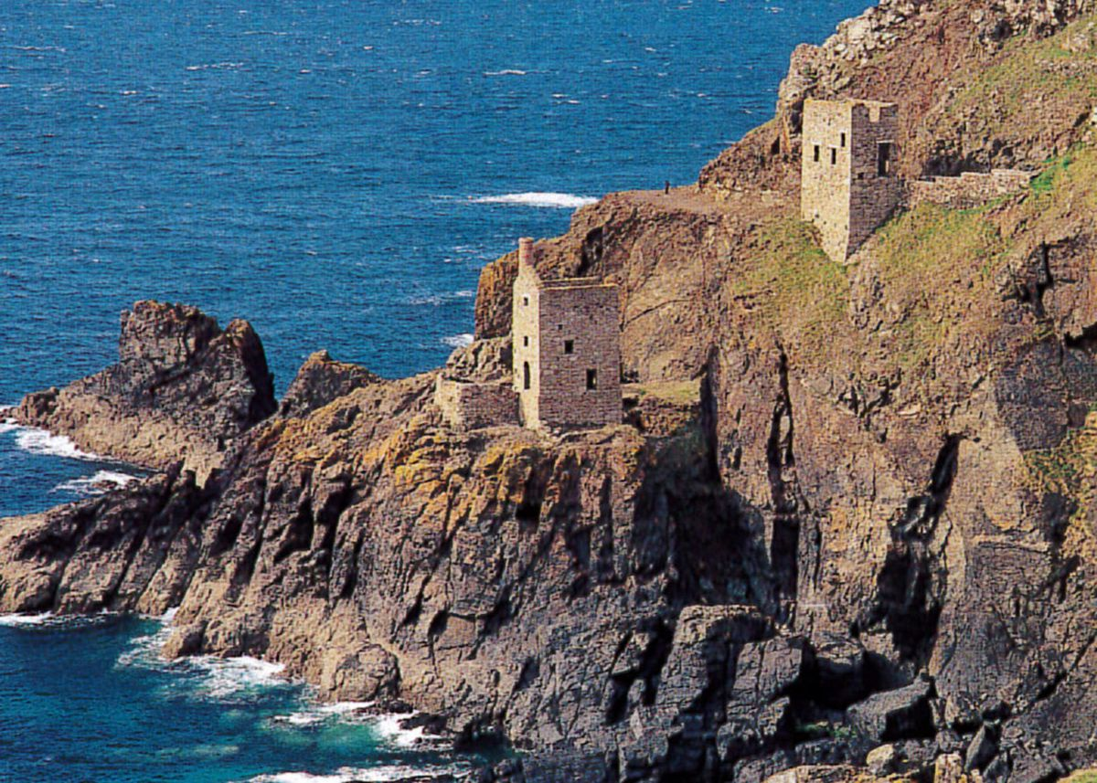 The Crowns engine houses at Botallack near St Just