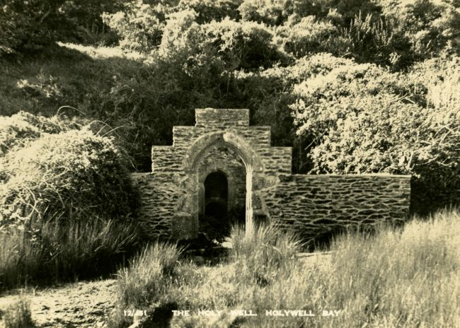 Holy Well at Cubert in Cornwall