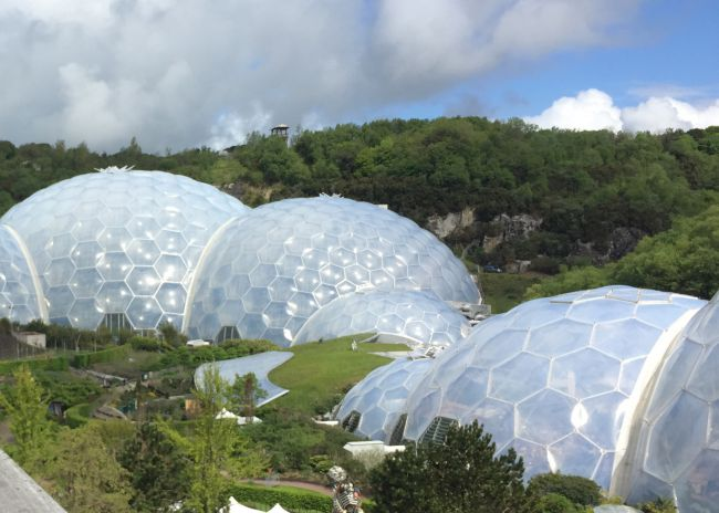 Eden Project in St Austell