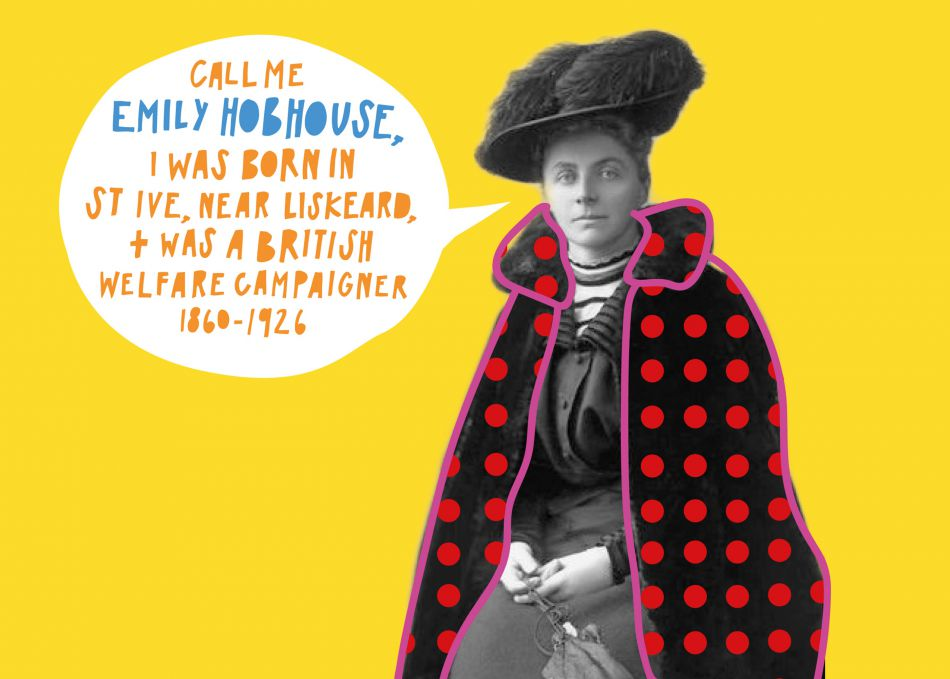 Illustration of Emily Hobhouse
