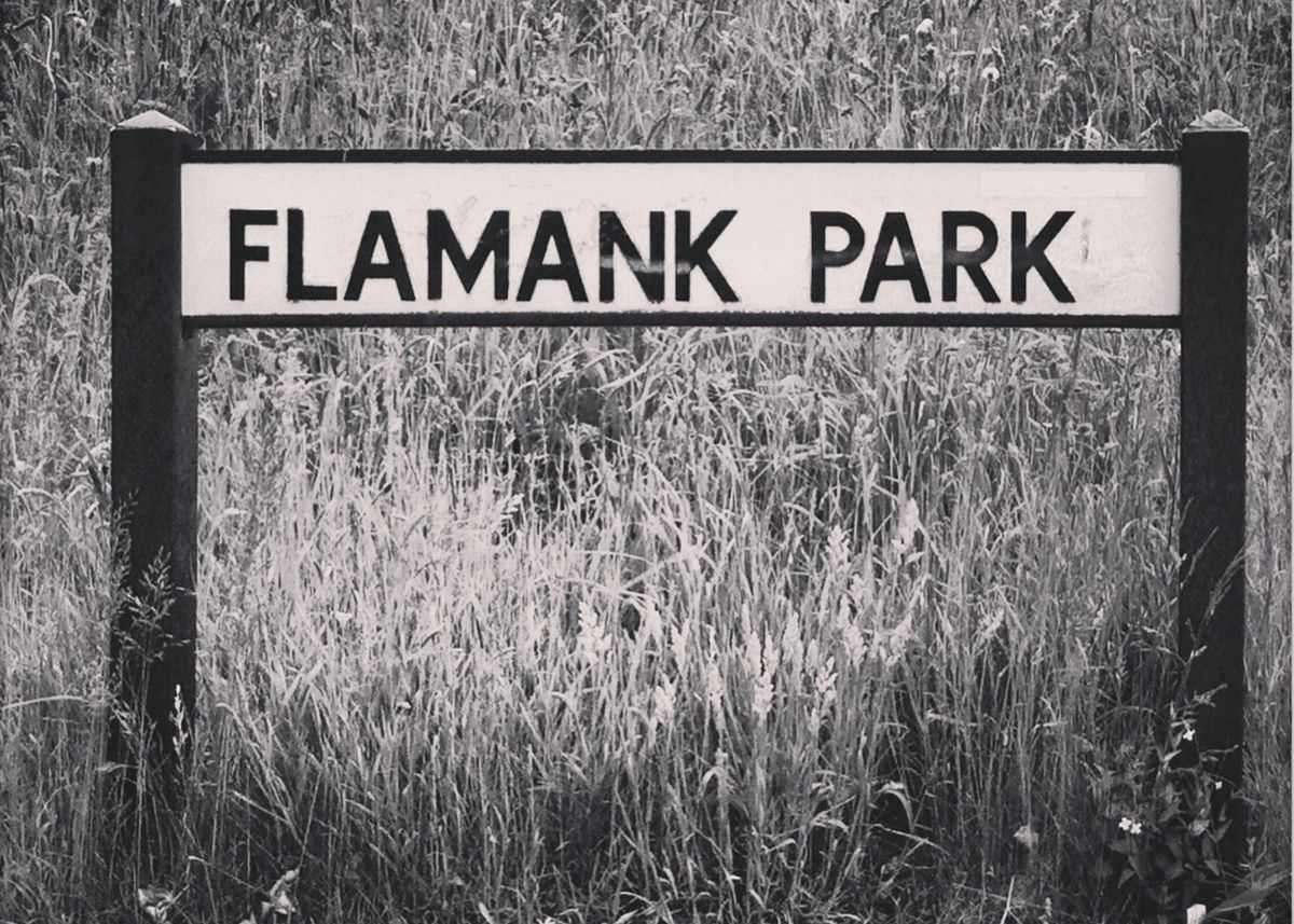 Photograph of Flamank Park street sign