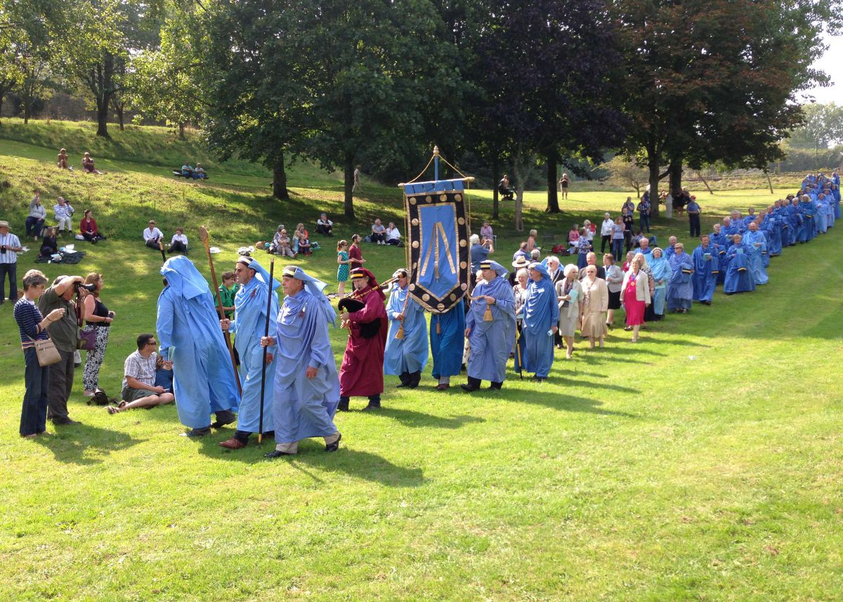 Gorsedh Proclamation Ceremony