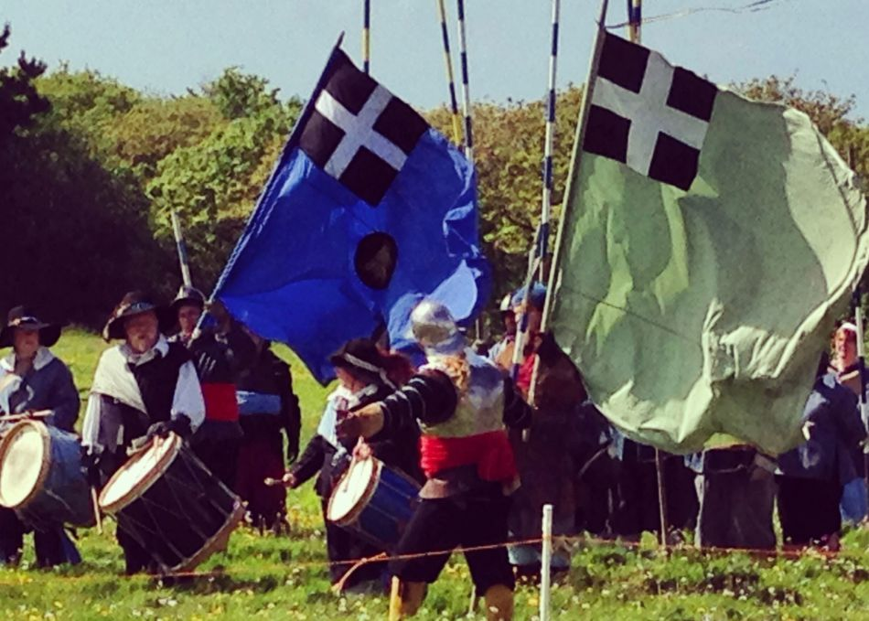 Civil War re-enactment in Cornwall