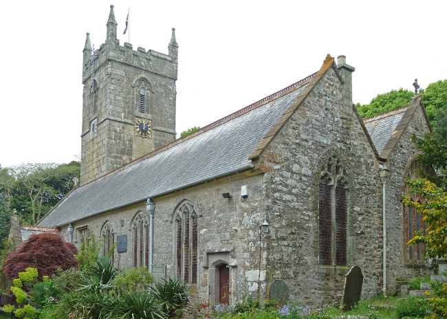 Gulval Church near Penzance