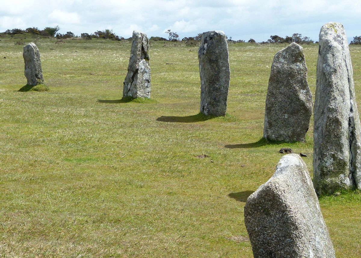 Hurlers stone circle in Bodmin