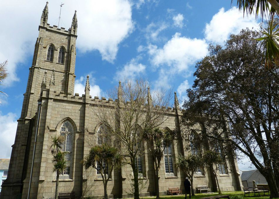 St Mary's Church in Penzance