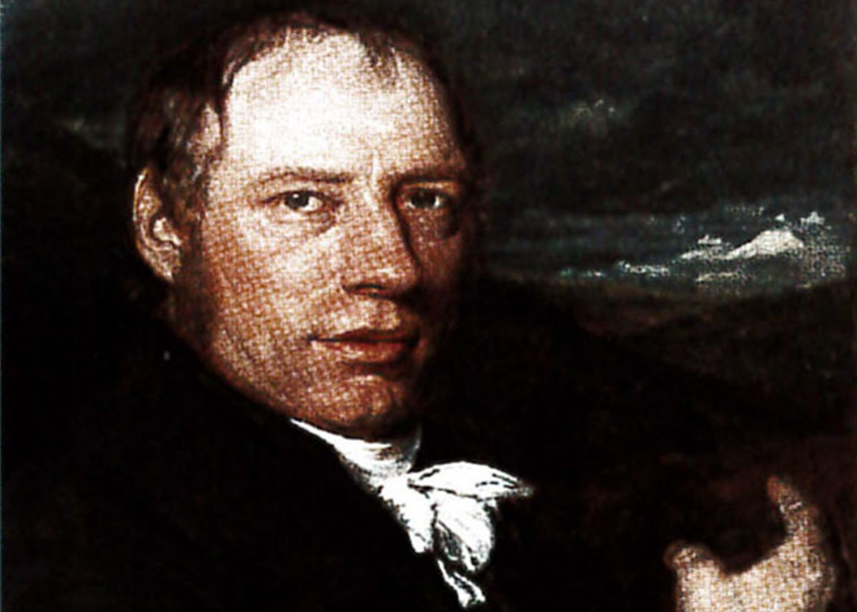 Portrait paining of Richard Trevithick