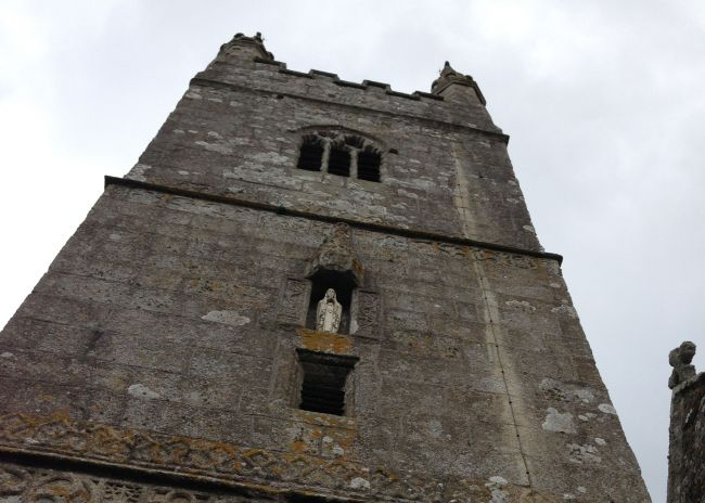 Week St Mary Church tower